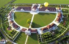 Vue aérienne de la Saline royale