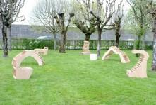 Les assises impossibles de l'Académie des Arts Appliqués de Dijon à venir découvrir à l'aire pique-nique de la Saline