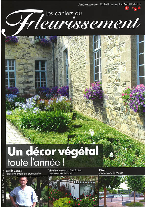 Couv Les cahiers du fleurissement - n°57 Mai 2016.jpg