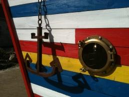 Ancre et hublot Capitaine Haddock