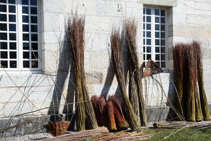 Vannerie Saline-bottes d'osier